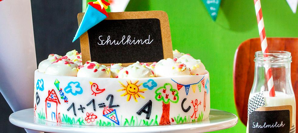 Tolle Ideen Fur Torten Kuchen Und Deko Zum Einschulungsfest Z B