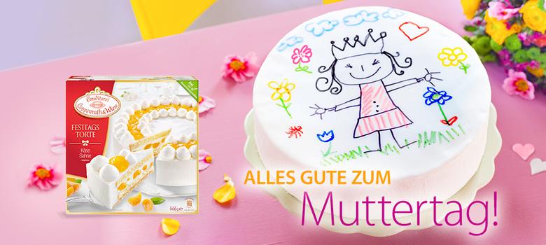 Muttertag Mit Sahne Torten Von Coppenrath Wiese Rezepte Und Ideen