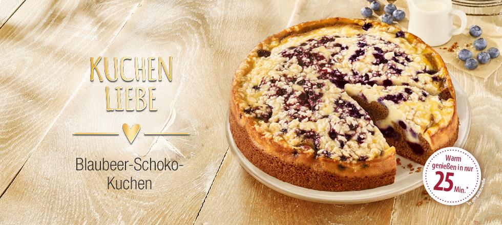 Coppenrath Wiese Blaubeer Rahm Schoko Kuchen 900g Kuchenliebe