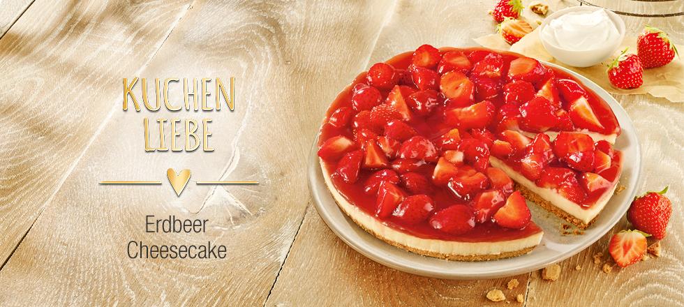 Coppenrath Wiese Erdbeer Cheesecake 900g Mit Crumbelboden