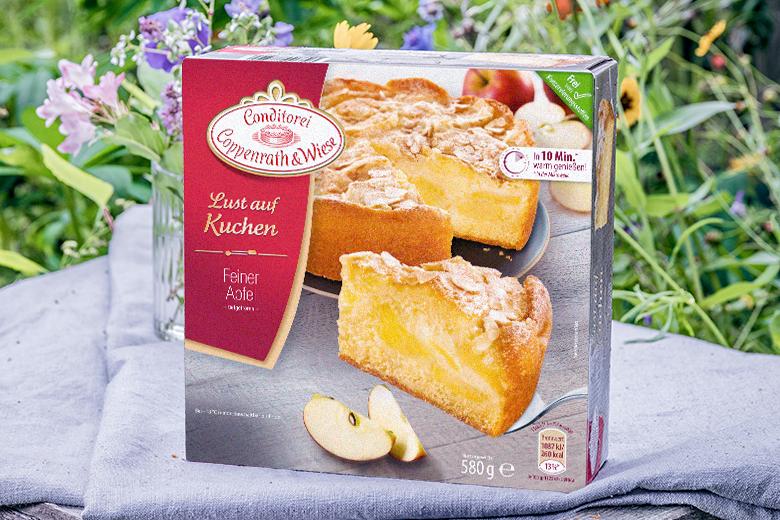 Spatsommer Torten Kuchen Von Coppenrath Wiese Apfelkuchen