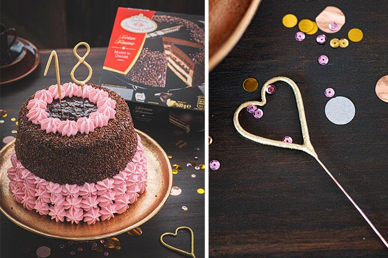 The Cake Emporium Ltd 18 Geburtstag Kuchen Topper Extra Grosse