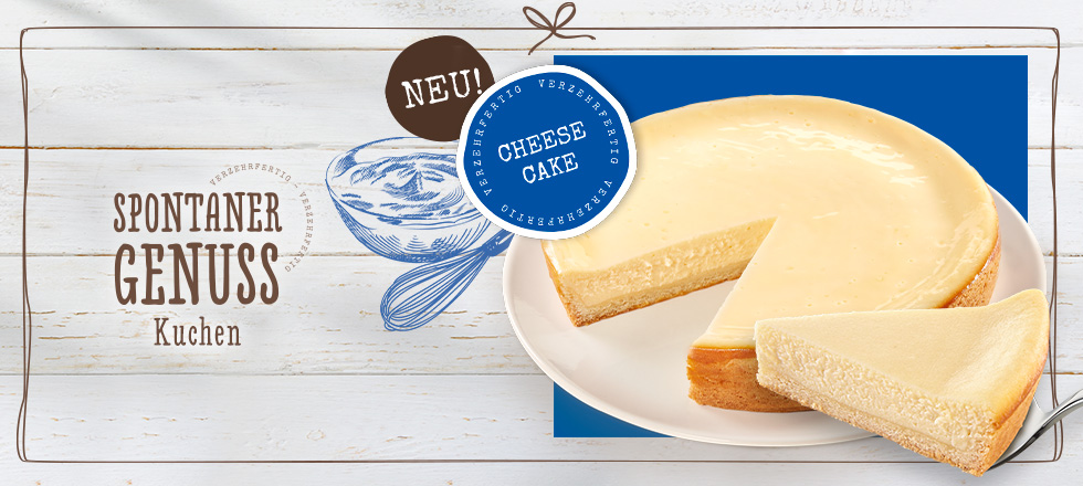 Spontaner Genuss Cheesecake