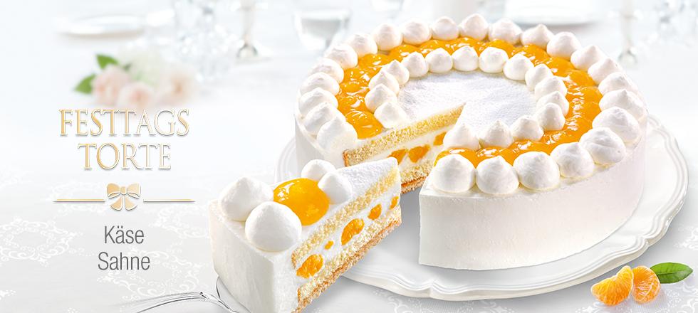 Kase Sahne Torte Mit Mandarinen Von Coppenrath Wiese