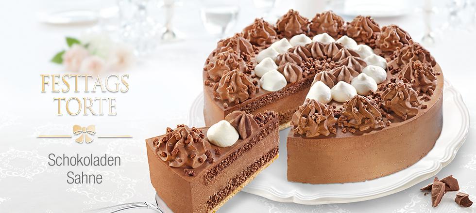 Schokoladen Sahne Torte Mit Biskuitboden Von Coppenrath Wiese