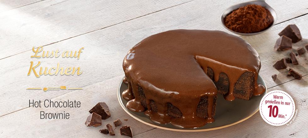 Hot Chocolate Brownie Kuchen Von Coppenrath Wiese Warm Geniessen