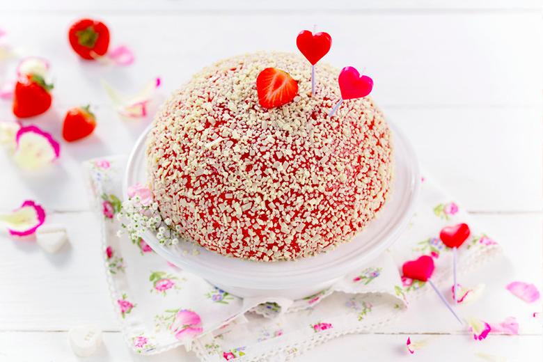 Valentinstag Kuchen Deko Zum Valentinstag Bastelideen