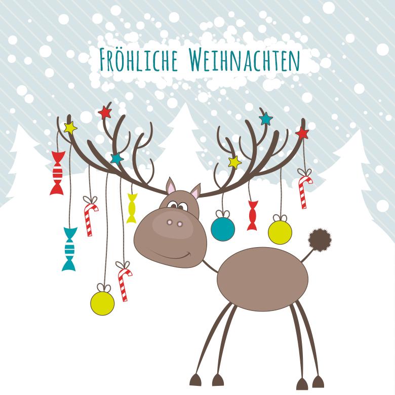 einladungskarten weihnachten – cloudhash, Einladungen