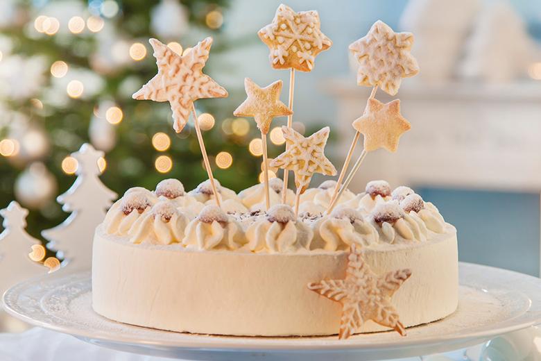 kuchen zu weihnachten weihnachtliche torte von coppenrath. Black Bedroom Furniture Sets. Home Design Ideas