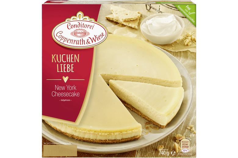 Coppenrath Wiese New York Cheesecake 740g Mit Crumbelboden