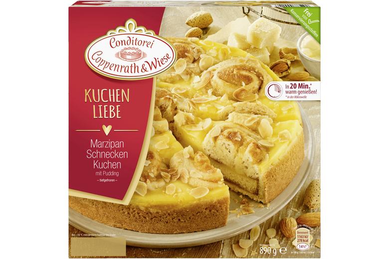 Coppenrath Wiese Marzipan Schnecken Kuchen 890g Kuchenliebe