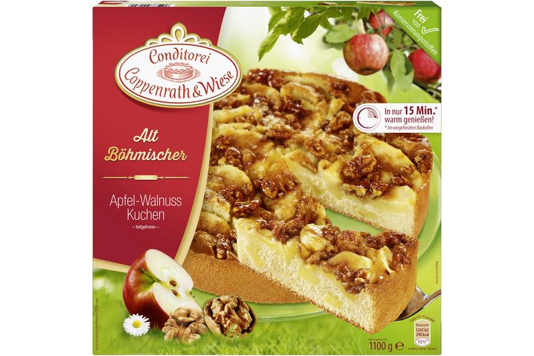 Alt Bohmischer Apfel Walnuss Kuchen Coppenrath Wiese