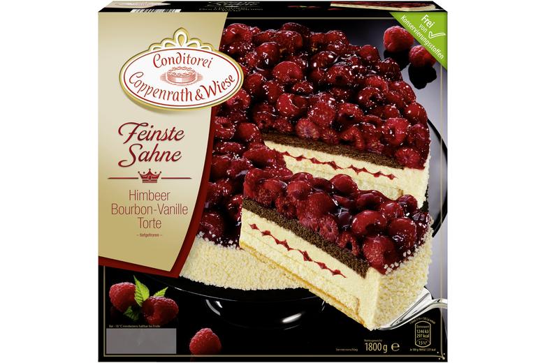 Himbeer Sahne Vanille Torte Von Coppenrath Wiese