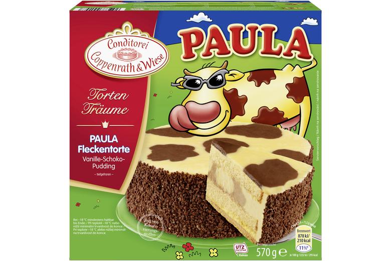 Paula Fleckentorte - Vanille- & Schoko-Pudding: Coppenrath & Wiese »