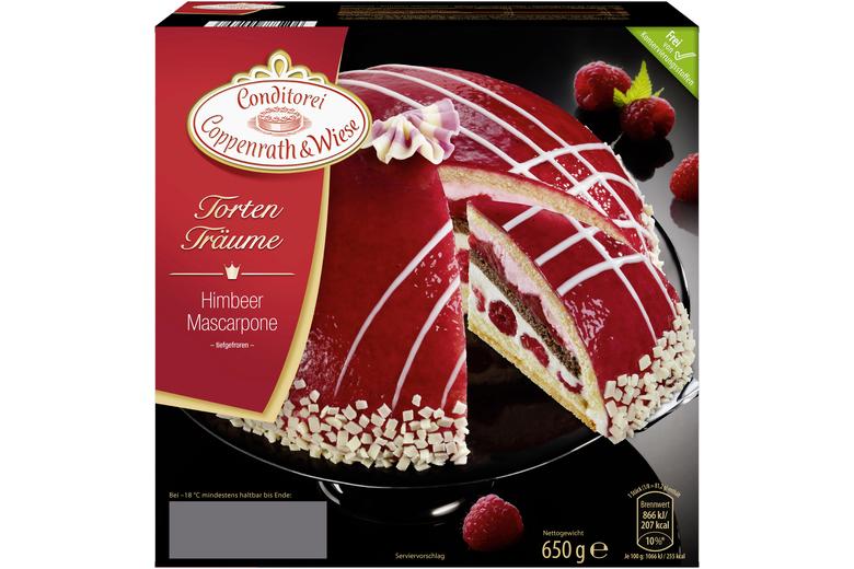 Himbeer Mascarpone Torte Von Coppenrath Wiese Kuchen