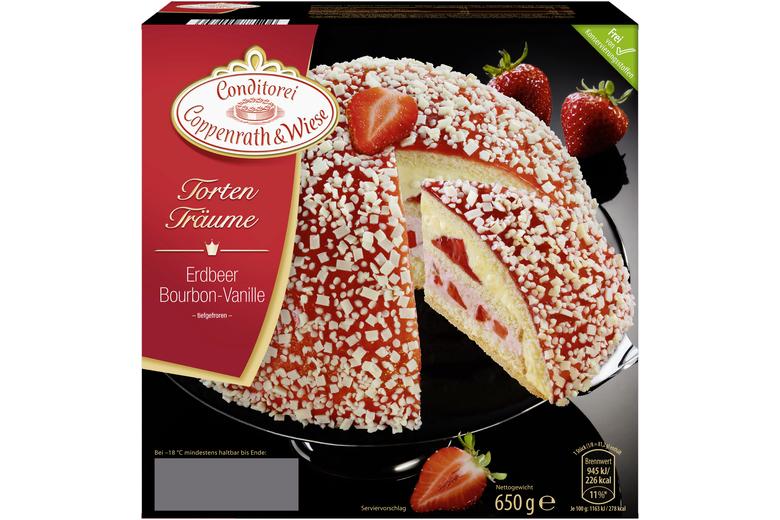 Erdbeer Bourbon Vanille Torte Von Coppenrath Wiese