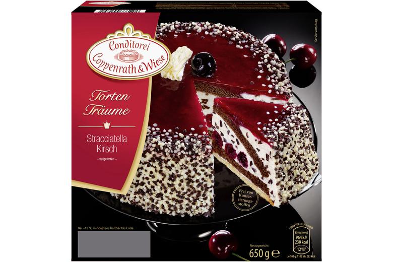 Stracciatella kirsch torte coppenrath wiese