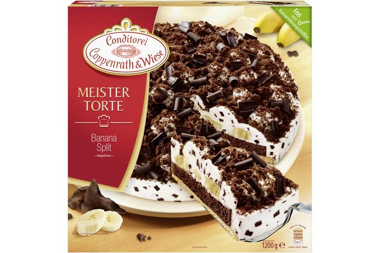 Banana Split Meistertorte Tiefgekuhlt Von Coppenrath Wiese