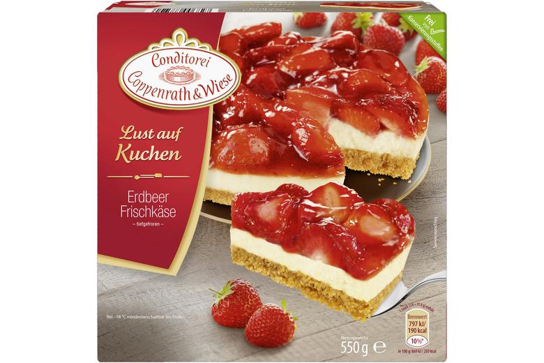 Erdbeer Frischkase Kuchen Von Coppenrath Wiese