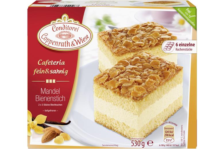 Mandel Bienenstich Kuchen Mit Fullung Coppenrath Wiese