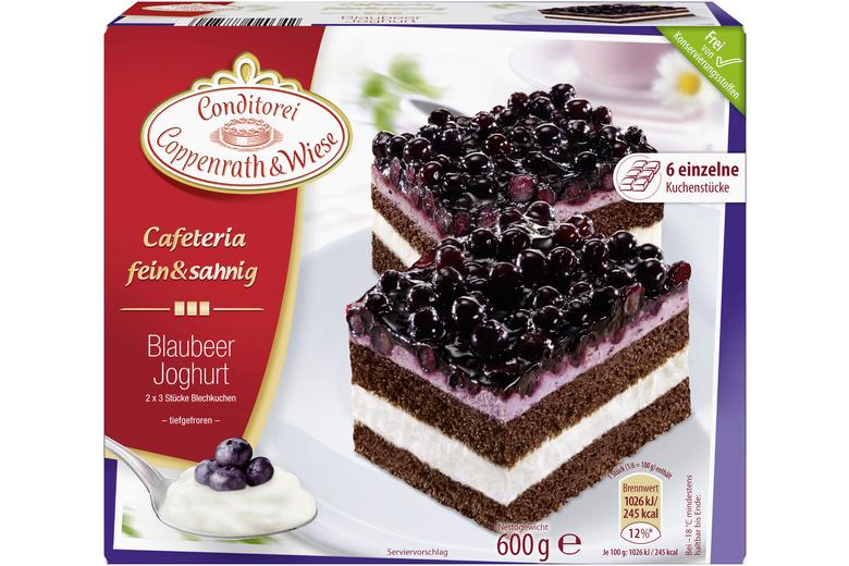Fruchtig Frischer Erdbeer Joghurt Kuchen Von Coppenrath Wiese